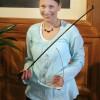Absolutní vítězka Marie Mátlová - Houslová soutěž 2008