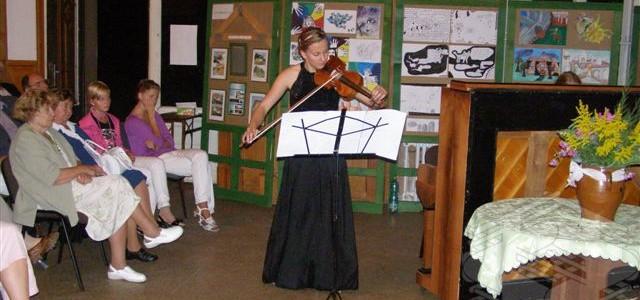 Slavnostní koncert vítězů 13. ročníku Houslové soutěže 2009