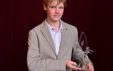 Absolutní vítěz jubilejního 20. ročníku Mezinárodní houslové soutěže Mistra Josefa Muziky