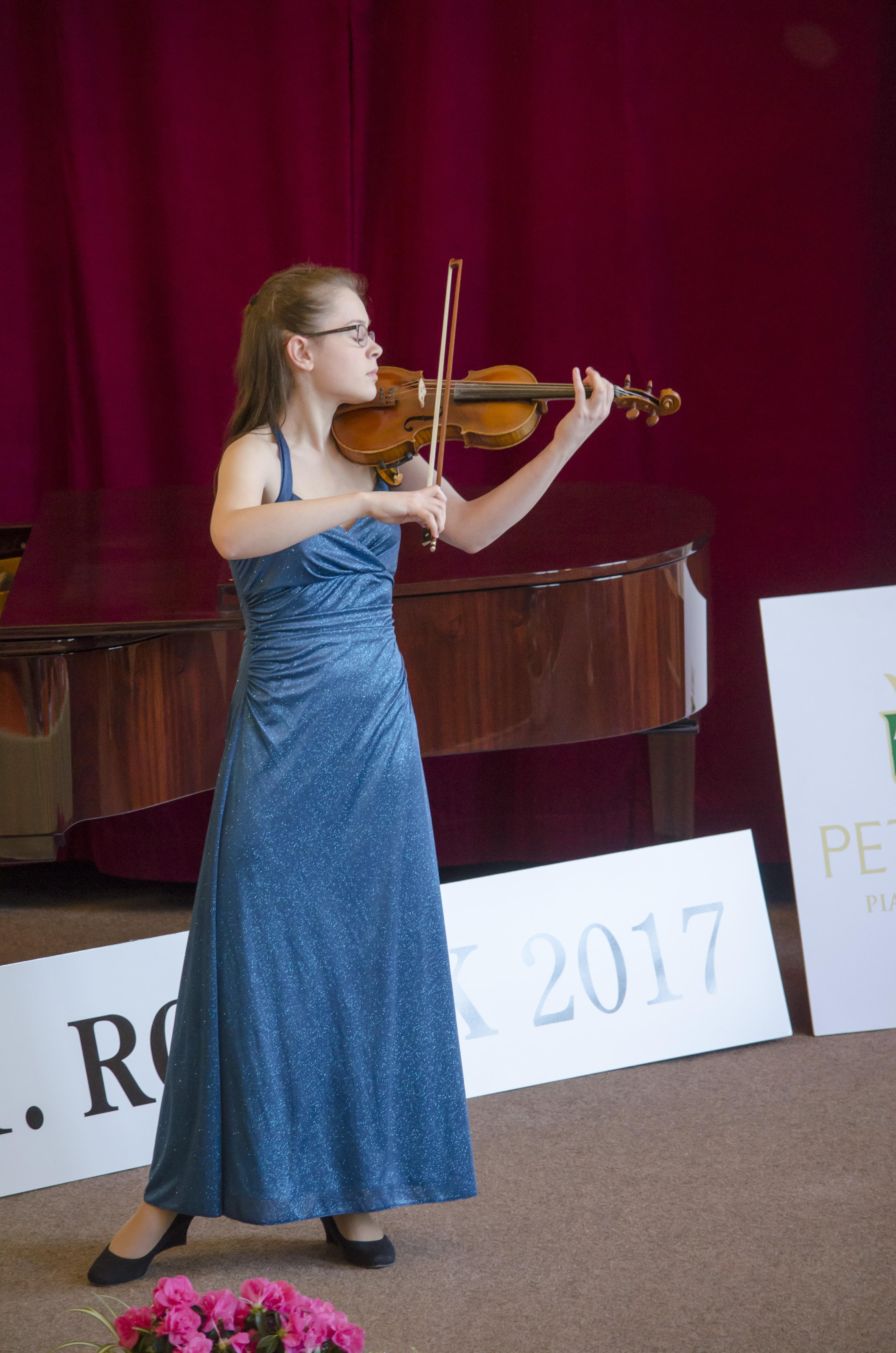 Houslová soutěž 2017 - V. kategorie - Routová Magda