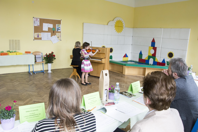 Houslová soutěž 2017 - II. kategorie - Anna Kaucová